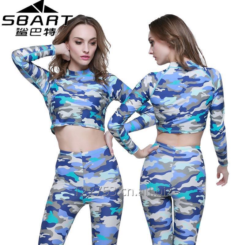 购买 Long Sleeve Rash Guard for Women