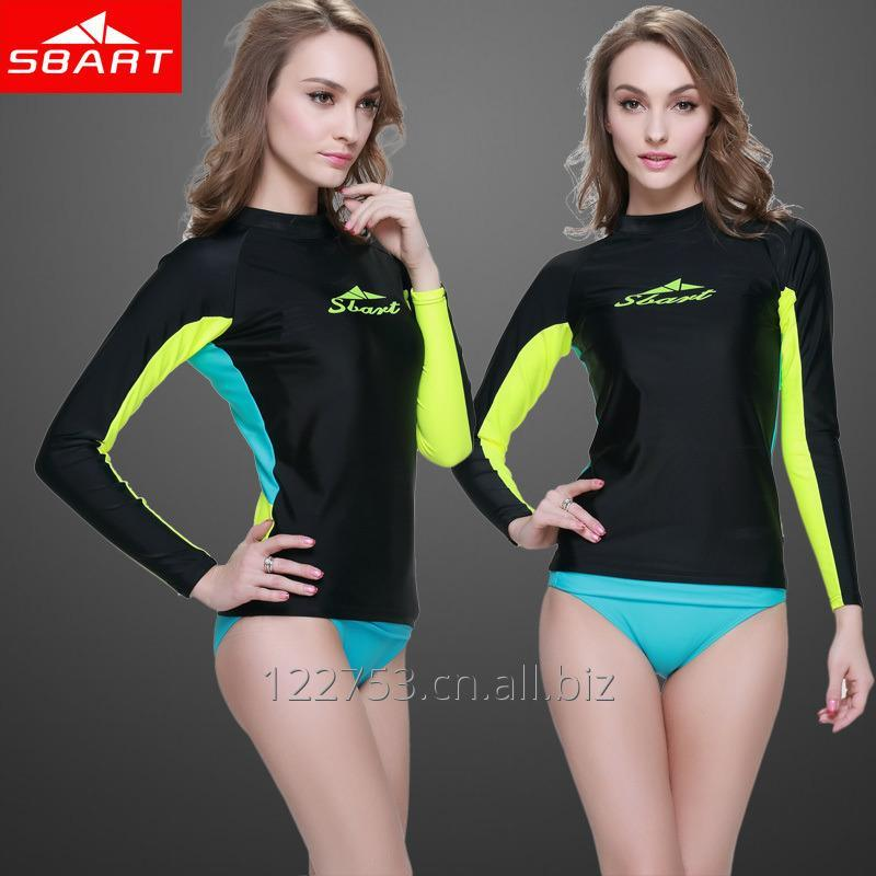 购买 Women Long Sleeve Rash Vest