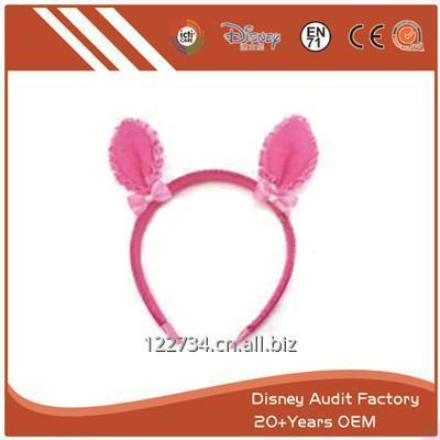 购买 Plush Pink Deer Ears Headband