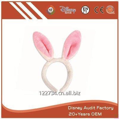 购买 Plush Short Fiber Rabbit Modeling Headband
