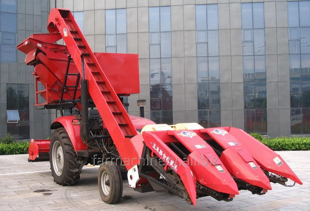 2 to 4 Rows Corn Harvester. Model: 4YW-3