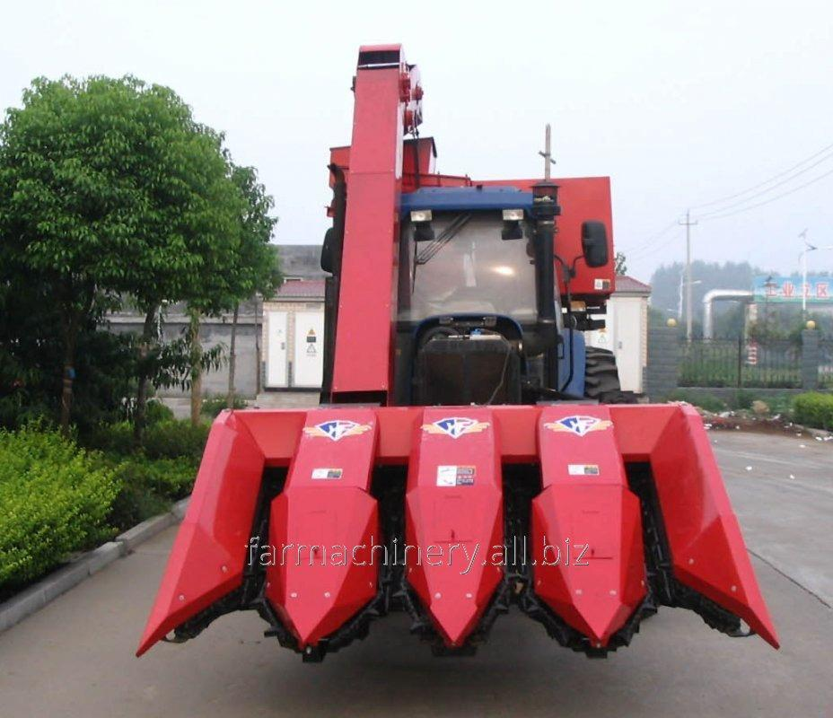 2 to 4 Rows Corn Harvester. Model: 4YW-4