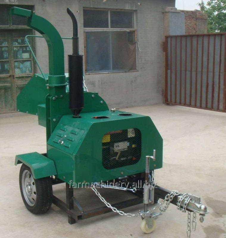 Diesel Engine Wood Chipper. Model: WC-40H