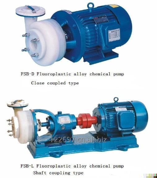 Satın al FSB kimyasal santrifüj pompa florür plastik kaplamalı