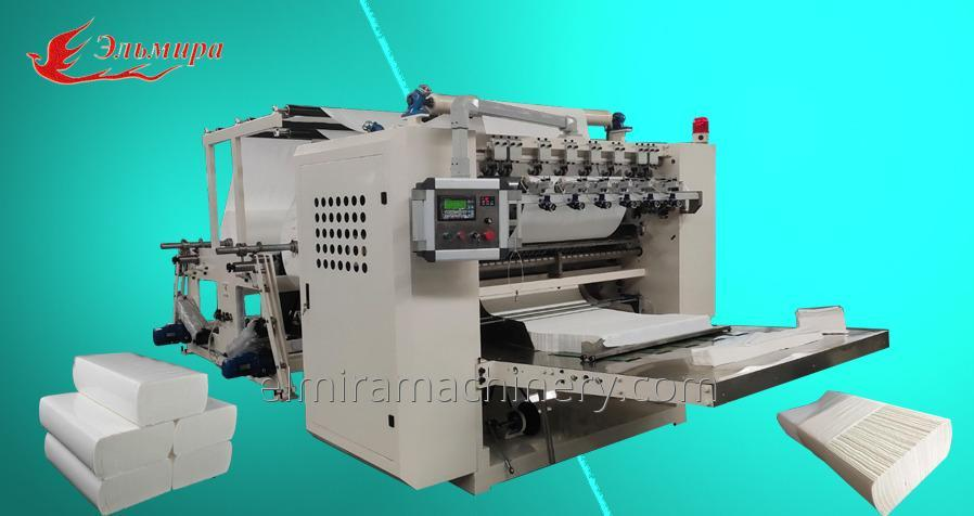 Machines for the production of paper towels adding Z