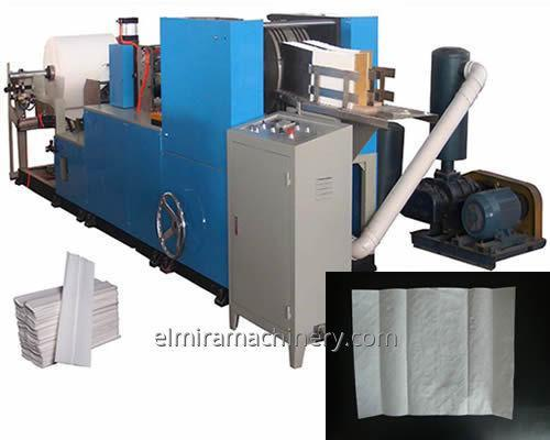 Automatic C-folding Hand Towel Manufacturing Machine
