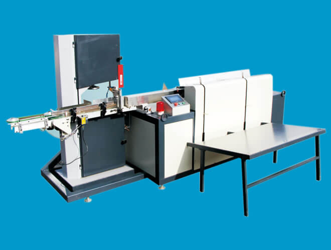Full-automatic band saw cutting machine