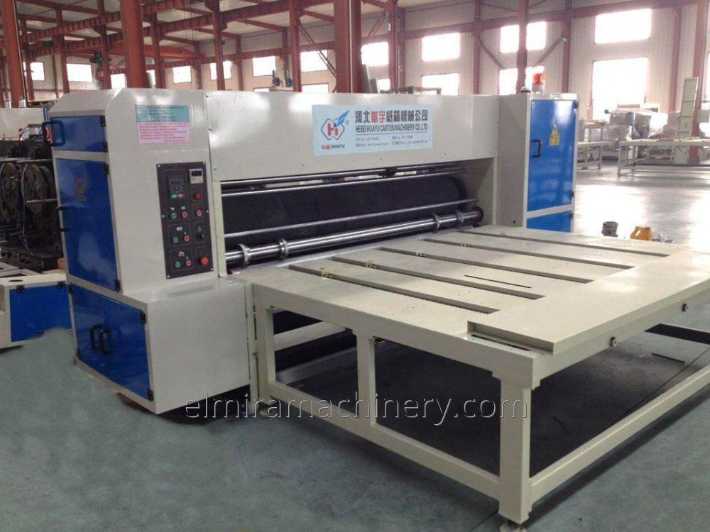 Semi-auto rotary die cutting machine