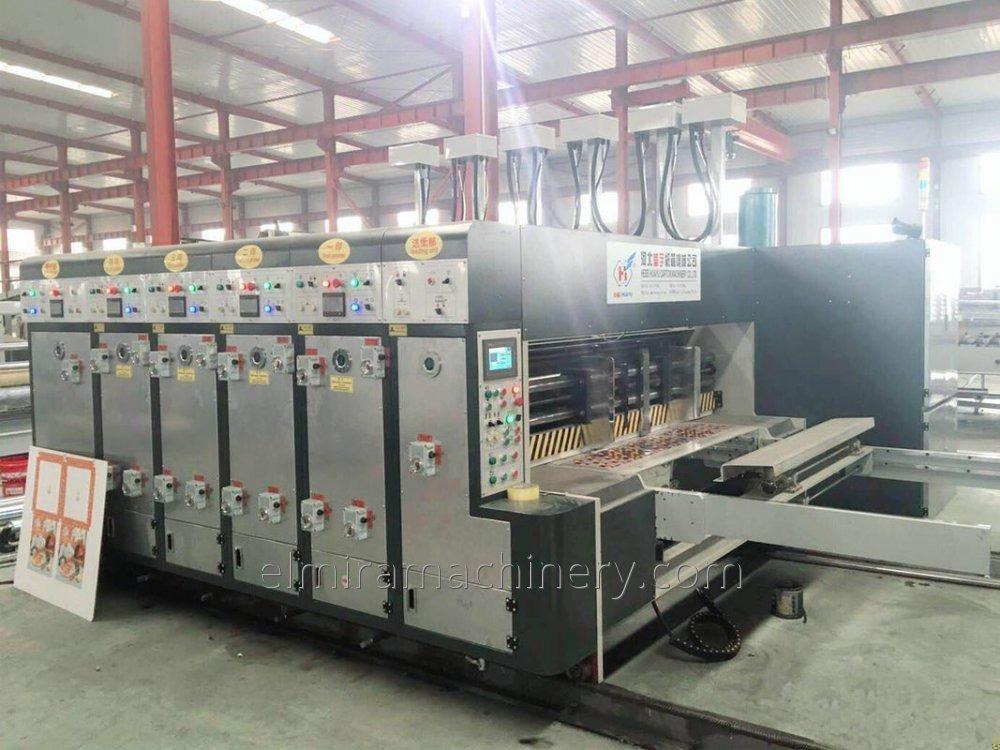 Buy Automatic printer slotter (die cutter) machine