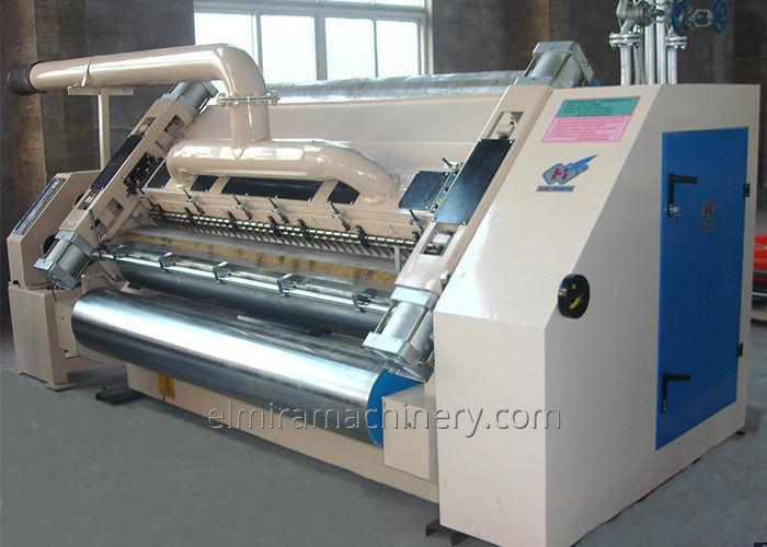 Single corrugating machine