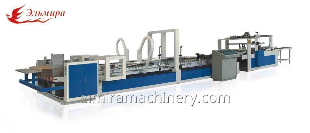 Buy Automatic carton gluer machine