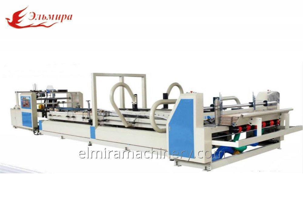 Automatic carton gluer machine
