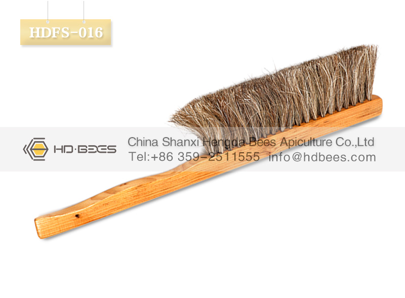 Buy HD-BEES beekeeping tools HDFS-016 Solid Wood bee brush