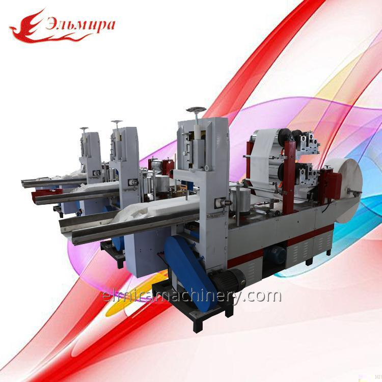 Product Introduce about Napkin Paper Folding Machine