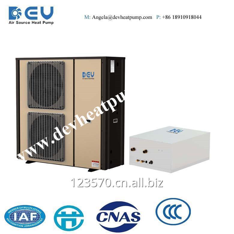 Buy Residential DC Inverter Split Type Hotwater and Flooring Heating, Cooling Series