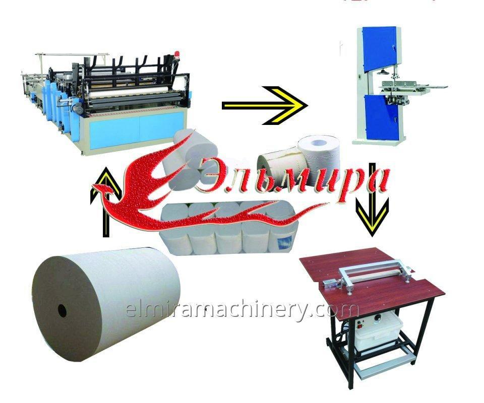 Tissue Paper Machine Toilet Paper Rewinder Made In China – Elmira