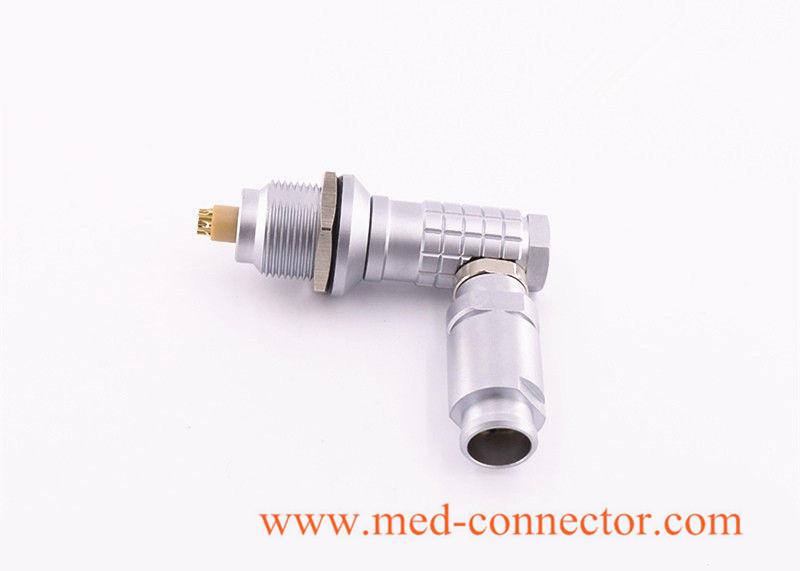 Buy Metal Elbow90° Push-pull connector comaptible Lemo FHG plug