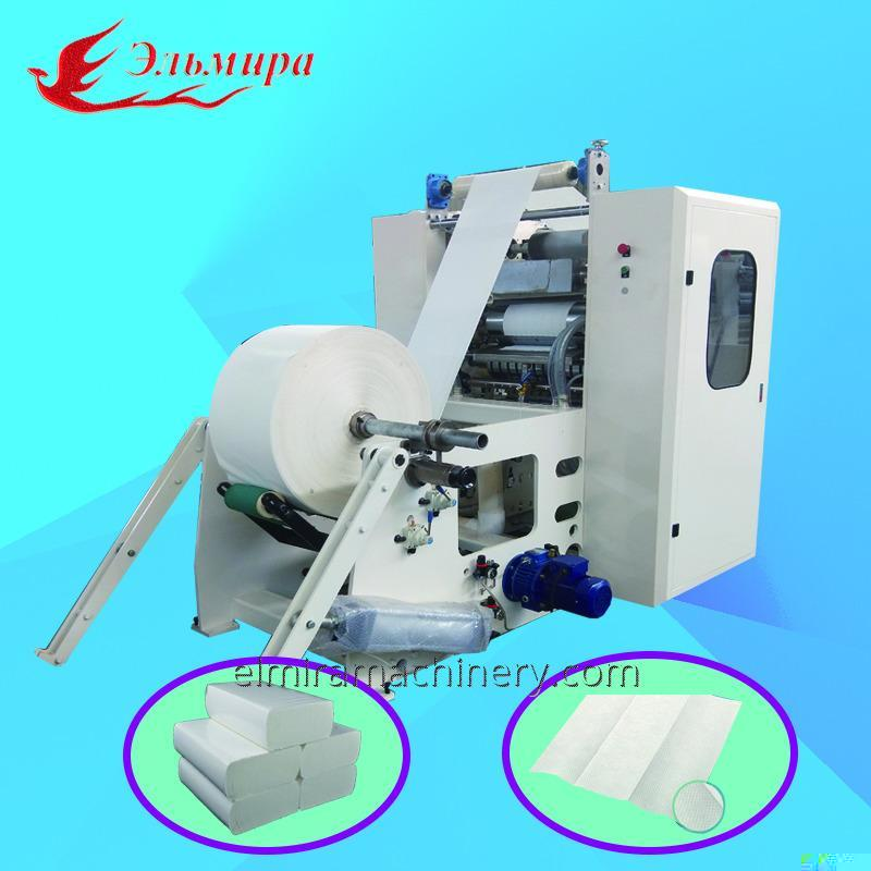 Automatic Z fold hand towel paper making machinery