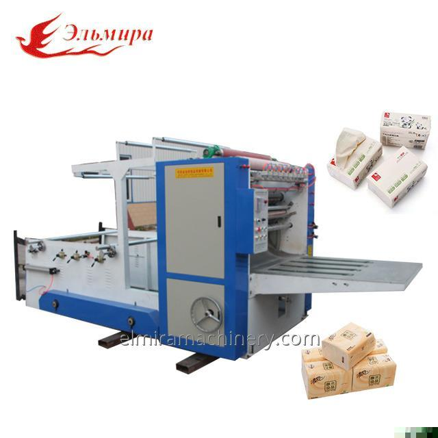 Automatic Embossed Box Paper Towel Folding Machine