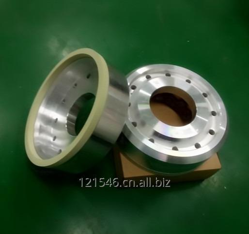 Vitrified bond diamond grinding wheels for grinding mono crystal silicon or poly crystal silicon