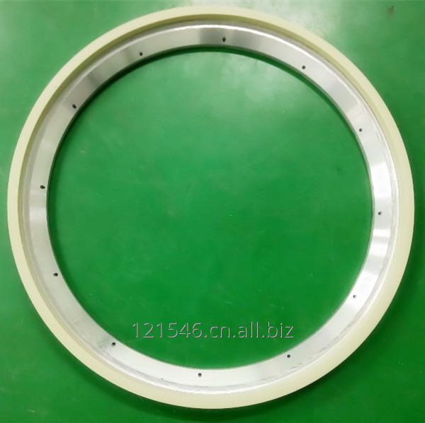 D400mm Vitrified ceramic diamond peripheral chamfering grinding wheels