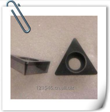 Turning and milling tool inserts PCD full face insert for aluminum work piece