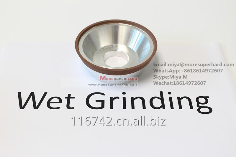 11V9 Resin Bond Diamond Grinding Wheel for carbide tools WET and DRY made in china