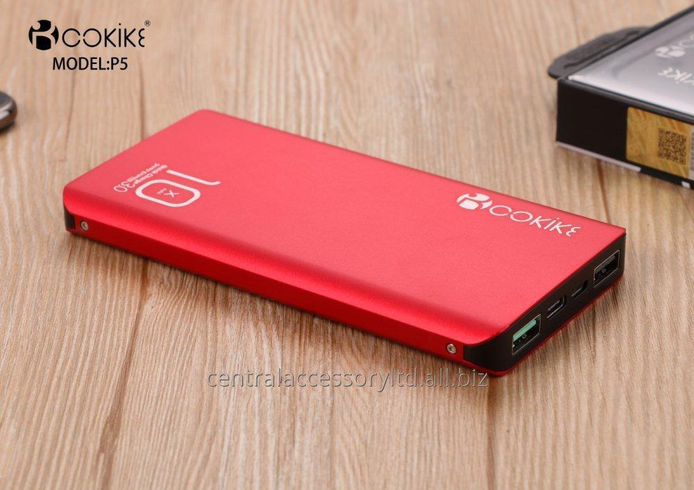Buy P5 10000mAh Power Bank Portable Chargers Wholesaler Emergency Charger for Handphone and Tablets