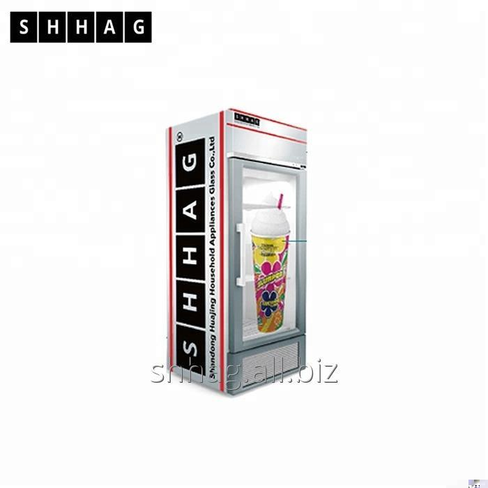 Buy Huajing Glass Advertising Glass Door TLCD Glass Door for Fridge
