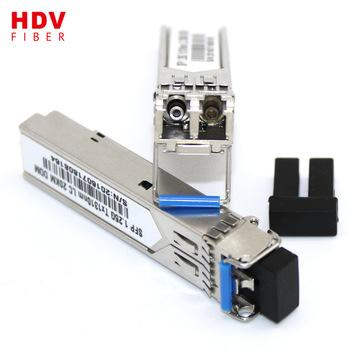 Buy 1.25G 3 KM wavelength 1310/1550nm optical sfp transceiver