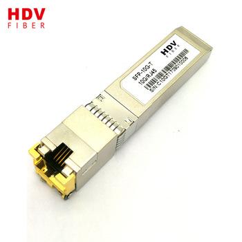 Buy 10/100/1000M SFP-T copper rj45 module compatible with Cisco