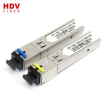 Buy 1.25G 20km transceiver 1310/1550 LC BIDI SFP