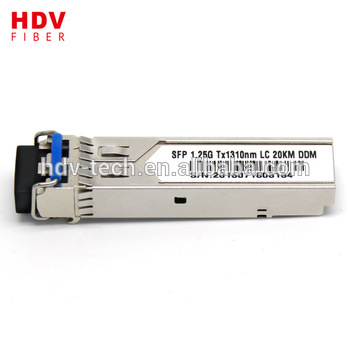 Buy Best 1.25g LC 1310nm single mode single fiber SFP module transceiver