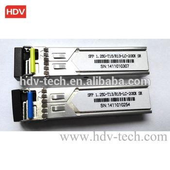 Buy Single Fiber 1.25G 1310/1550 20km BIDI SFP