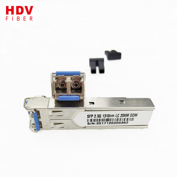 Buy SFP Transceiver Manufacturer 1310nm 20KM 2.5G Duplex LC SFP Module with Best Price