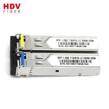 Buy HDV 20KM 1.25g wdm bidi 1310nm 1550nm sfp 20km lc
