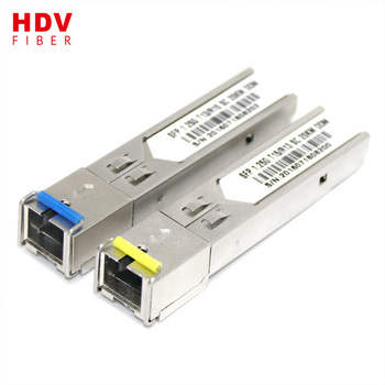 Buy SFP wdm module 1.25g 1310/1550nm gbic 40km