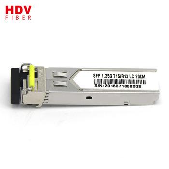 Buy 1000base-tx/1.25g single mode single core bidi sfp fiber transceiver