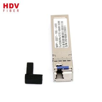 Buy 10G 1550nm 40km sfp fiber optical transceiver sfp module