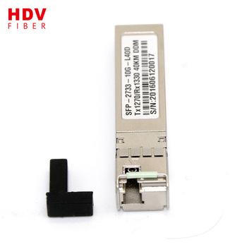 Buy Fiber Optic Transceiver 20KM 10G 1270/1330nm EPON OLT SFP Module