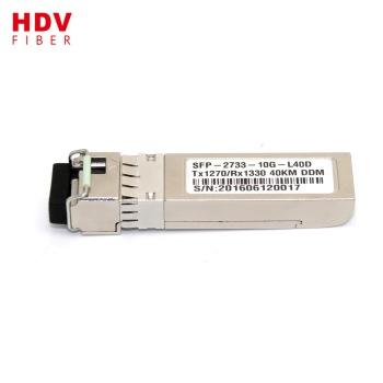 Buy 10G SFP plus optical module wdm bidi SFP+ 1270/1330 20km