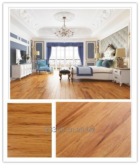 Buy Vinyl flooring unique caremel brown color Wooden effect loose lay long-life performance antislip antiskid