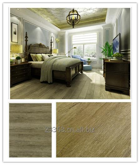 Buy PVC floor tiles with modular flexibility unique design realism wooden effect durability antimicrobial antibacterial