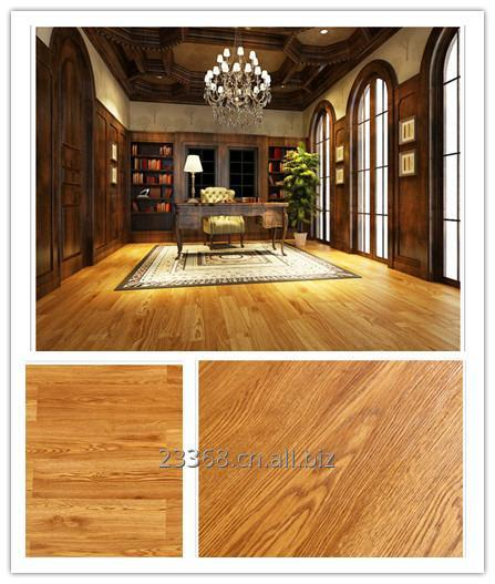 Buy Luxury vinyl tiles planks protective UV coating compact surface hot pressure waterproof floating floor quick and simple installation