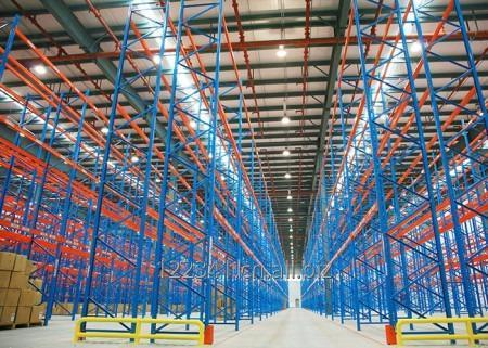 Buy Warehouse heavy duty storage steel selective pallet racking