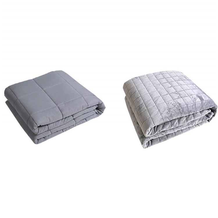 Buy High Quality Anxiety Sensory Weighted Blanket With Removable Cover