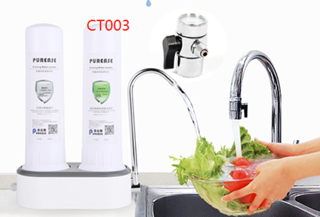 Buy Countertop Drinking Water Filter System for Faucet remove chlorine/sediment improve taste