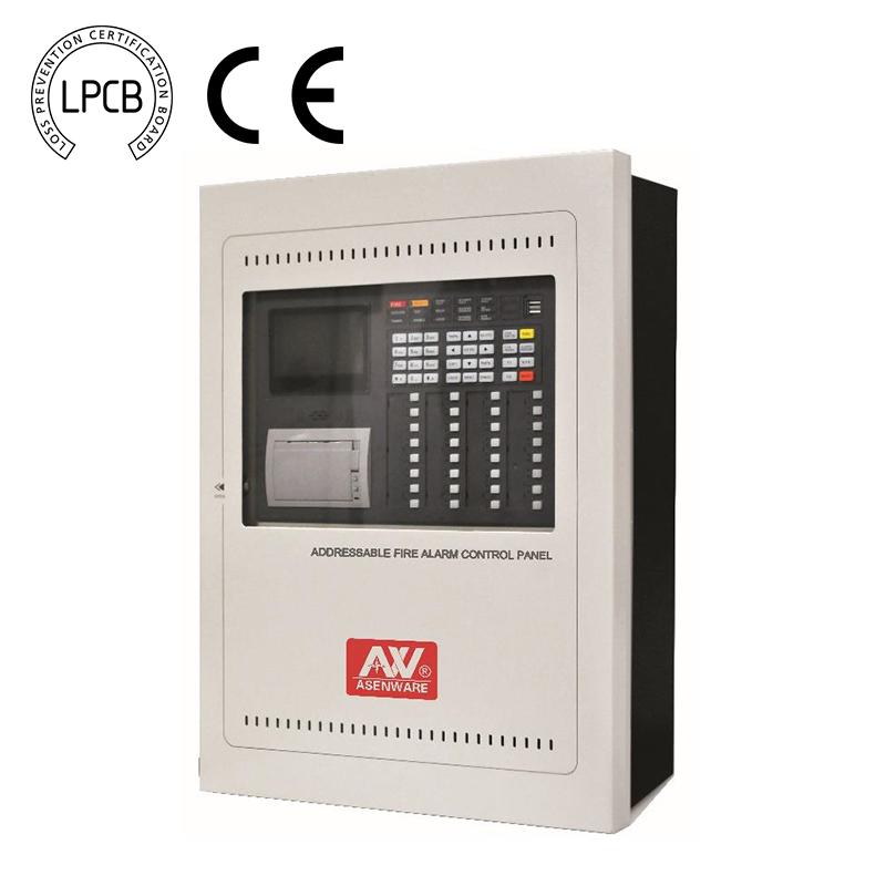 Buy AW-FP300 LPCB Addressable fire alarm system 32 zone control panel