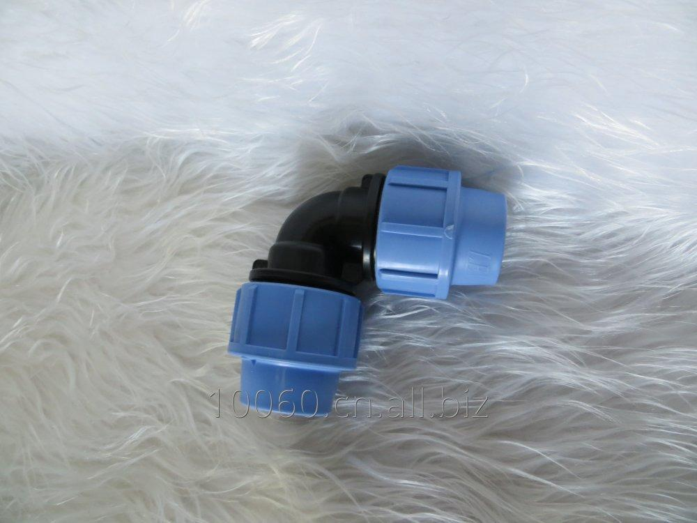 Buy PP compression pipe elbow