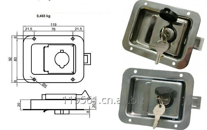 Buy Truck body paddle lock